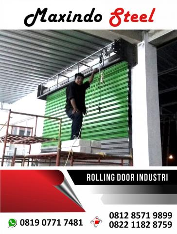 Foto: Jual Rolling Door Folding Gate