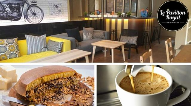 Foto: Le Pavillon Royal Martabak & Coffee