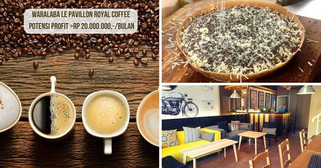 Foto: Waralaba Le Pavillon Royal Martabak & Coffee