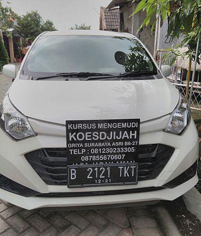 Foto: Kursus Mengemudi Mobil Koesdjijah Surabaya dan Sekitarnya