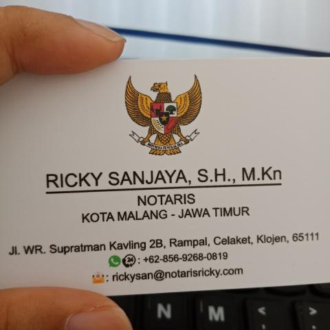Foto: Kantor Notaris Ricky Sanjaya