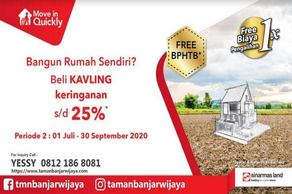 Foto: Move In Quickly Kavling Murah Banjar Wijaya Tangerang