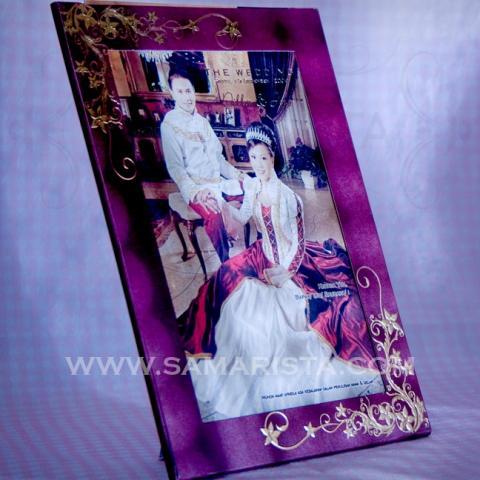 Foto: Jasa Cetak Kartu Undangan Pernikahan Frame Foto Harga Murah