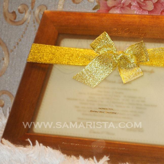 Foto: Kartu Undangan Pernikahan Frame Foto Cantik