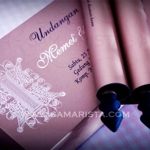Foto: Jasa Cetak Kartu Undangan Pernikahan Gulung Cantik