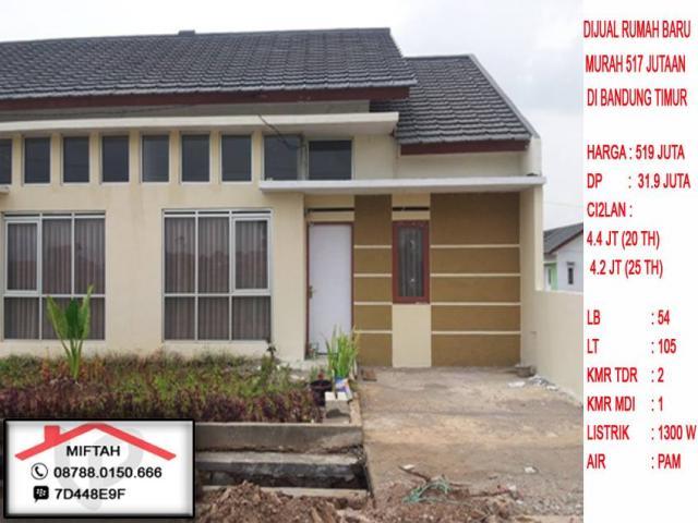 Foto: Dijual Rumah Baru Murah 219 Jutaan Di Bandung Timur