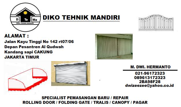 Foto: Perbaikan Dan Pemasangan Rolling Door Jabodetabek