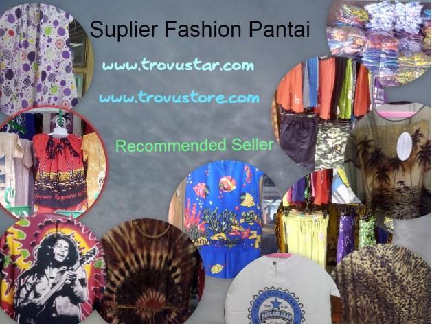 Foto: Suplier Fashion Pantai Pangandaran