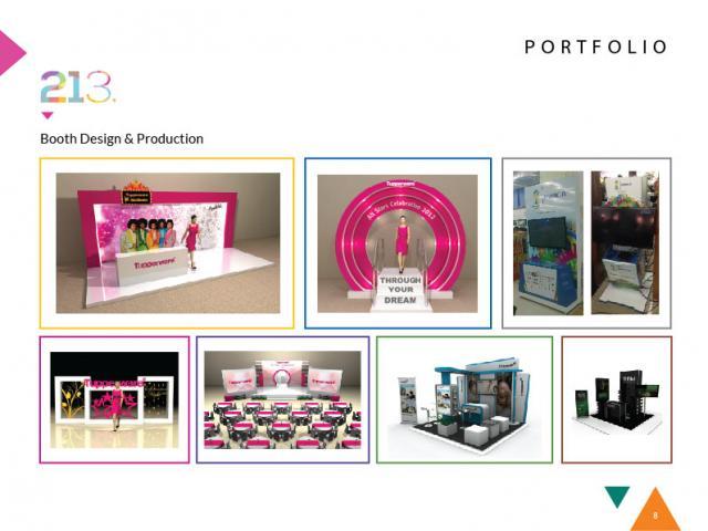 Foto: Pembuatan Desain Booth Pameran Dan Produksi