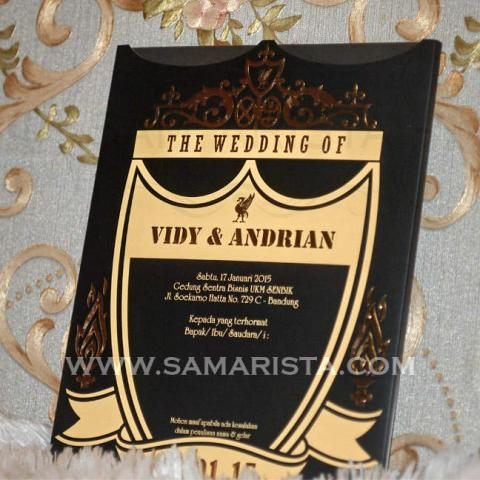 Foto: Cetak Undangan Pesta Pernikahan Unik Harga Murah