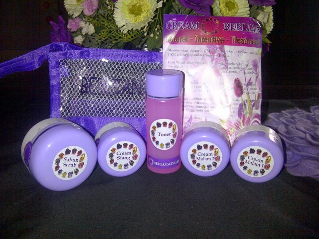 Foto: Pemutih Wajah Cream Berlian