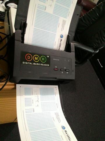 Foto: Software Koreksi Ujian