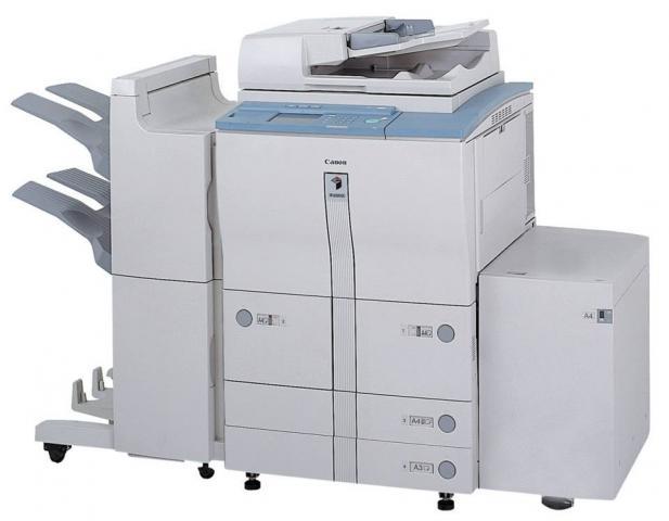 Foto: Mesin Fotocopy Xerox Dan Canon Digital