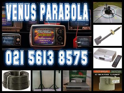 Foto: Cv. Venus Parabola : Pasang Baru Parabola Digital Hdmi